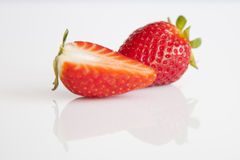 Red strawberries Stock Photos