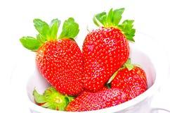 Red strawberry Stock Photo