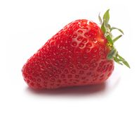 Red strawberry Stock Photos