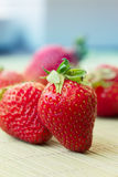 Red Strawberry, Stock Image