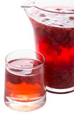 Red strawberry drink. Stock Photography