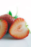 Red strawberry fruit Royalty Free Stock Image