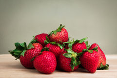 Red strawberry Stock Images