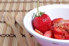Red strawberry Stock Photos