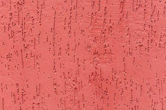Red striated stucco wall Royalty Free Stock Images