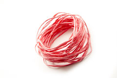 Red string Royalty Free Stock Photos
