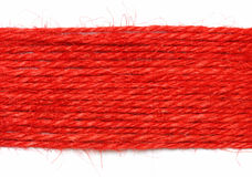Red strings as background Stock Image