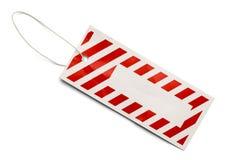 Red Stripe Tage Royalty Free Stock Photos