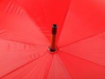 Red stripe umbrella Stock Image