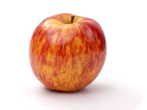 Red striped apple Stock Photos