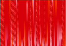Red striped background Stock Image