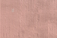 Red striped concrete wall Stock Photo