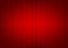 Red Striped Curtain Background Stock Photo