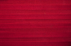 Red Striped Fabric Stock Photos