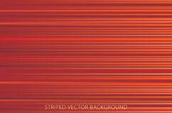 Red striped fabric Stock Images