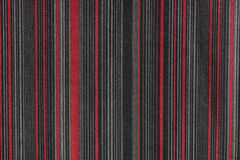 Red striped gra fabric texture Royalty Free Stock Photos