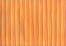 Red stripes on orange background Stock Images