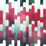 Red stripes seamless pattern. Vector eps 10 vector illustration