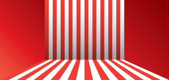 Red stripes wallpaper Royalty Free Stock Photos