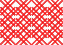 Red stripes on white background. Striped diagonal pattern Vector illustration of Seamless background Christmas or winter stock illustration