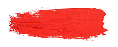 Free Red Stroke Of The Paint Brush Stock Image - 24966221