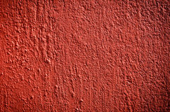 Red stucco Stock Photography