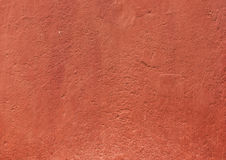 Red stucco texture Royalty Free Stock Image