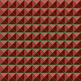 Red studs seamless texture background Royalty Free Stock Photos