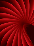 Red stylish abstract background Stock Photography
