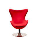 Red Stylish Chair Royalty Free Stock Photography