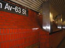 red subway tiles Royalty Free Stock Photos
