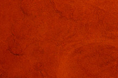 Red suede. Closeup of natural background - red suede Stock Image
