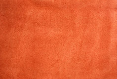 Red Suede Background Stock Photography