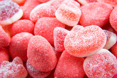 Red sugar candy sweets Royalty Free Stock Photography