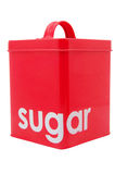 Red sugar Container Royalty Free Stock Photo