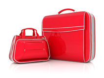 Red suitcase Royalty Free Stock Photography