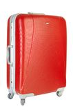 Red suitcase Royalty Free Stock Images
