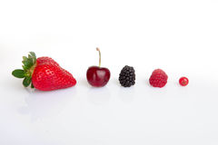 Red summer fruits, Stock Photos