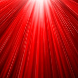 Red sun blast Stock Photos