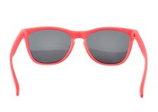 Red sun glasses isolated Royalty Free Stock Images