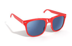 Red sun glasses Royalty Free Stock Photo