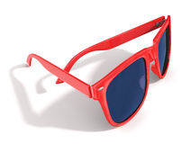 Red sun glasses Royalty Free Stock Photos