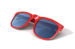 Red sun glasses Stock Photography