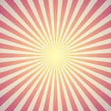 Red sunburst background. Vector Royalty Free Stock Image