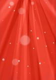 Red sunburst and snow background Royalty Free Stock Image