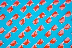 Free Red Sunglass Pattern Royalty Free Stock Image - 80573556