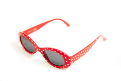Red sunglasses Royalty Free Stock Images