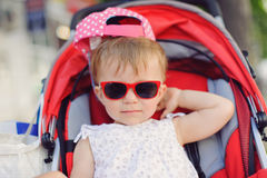 Red Sunglasses Stock Photography