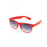 Red sunglasses isolated Stock Image