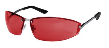 Red sunglasses Royalty Free Stock Photo